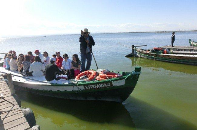 paseos barca albufera
