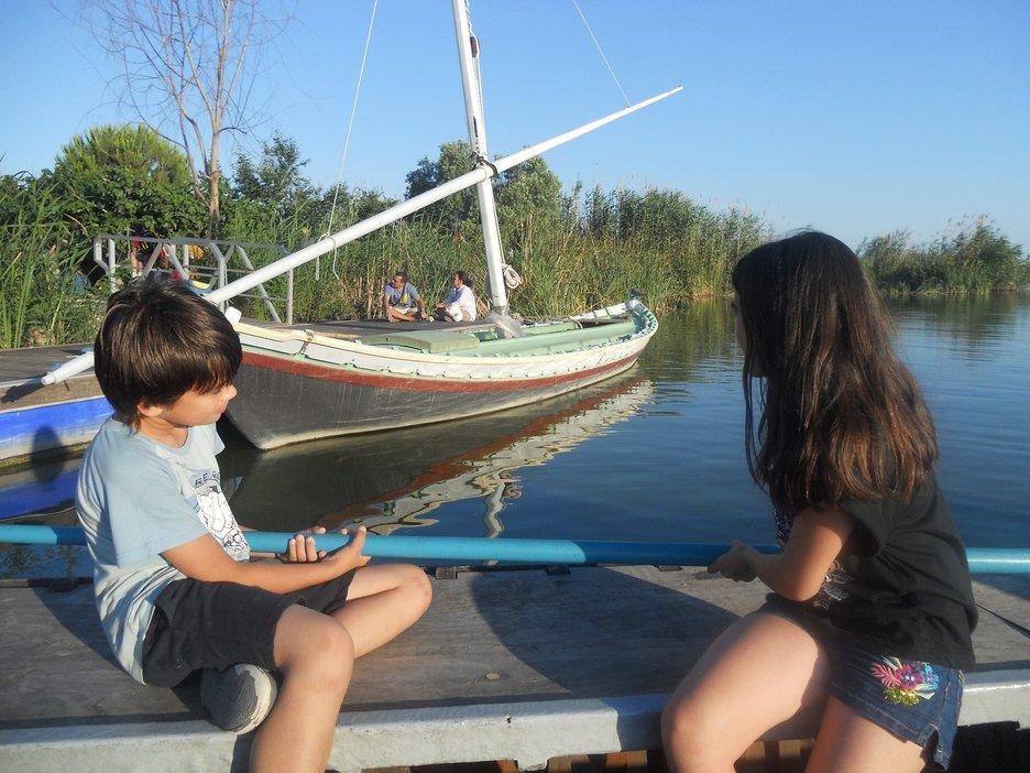 paseo barca albufera familias