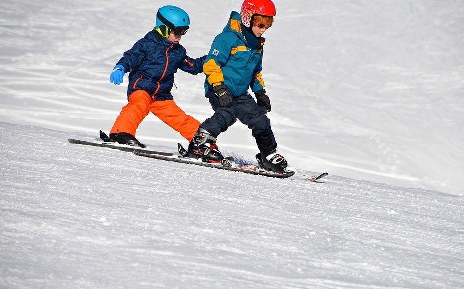 esqui niños