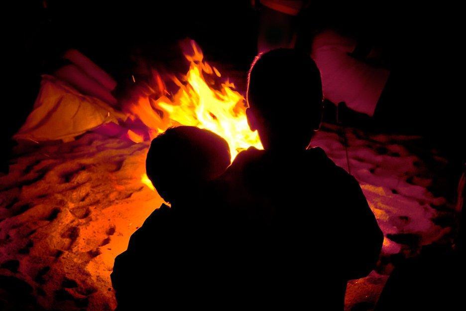 Noche de San Juan con niños