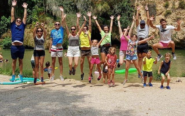 Campamento familiar actio