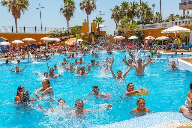 Gran Hotel Peñíscola en verano