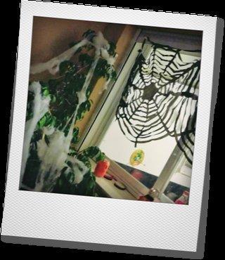 Telearaña Halloween
