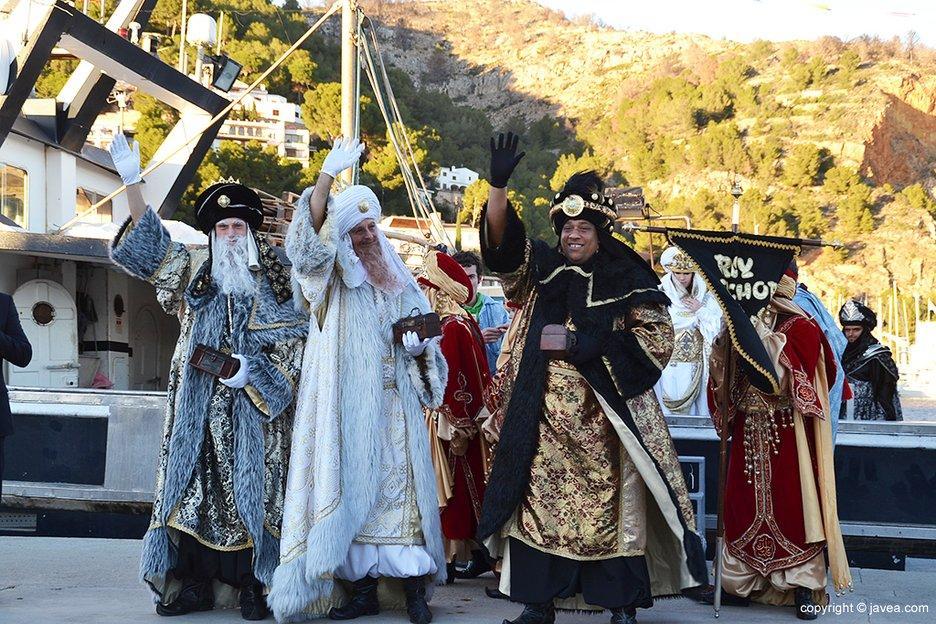 Reyes en Xabia