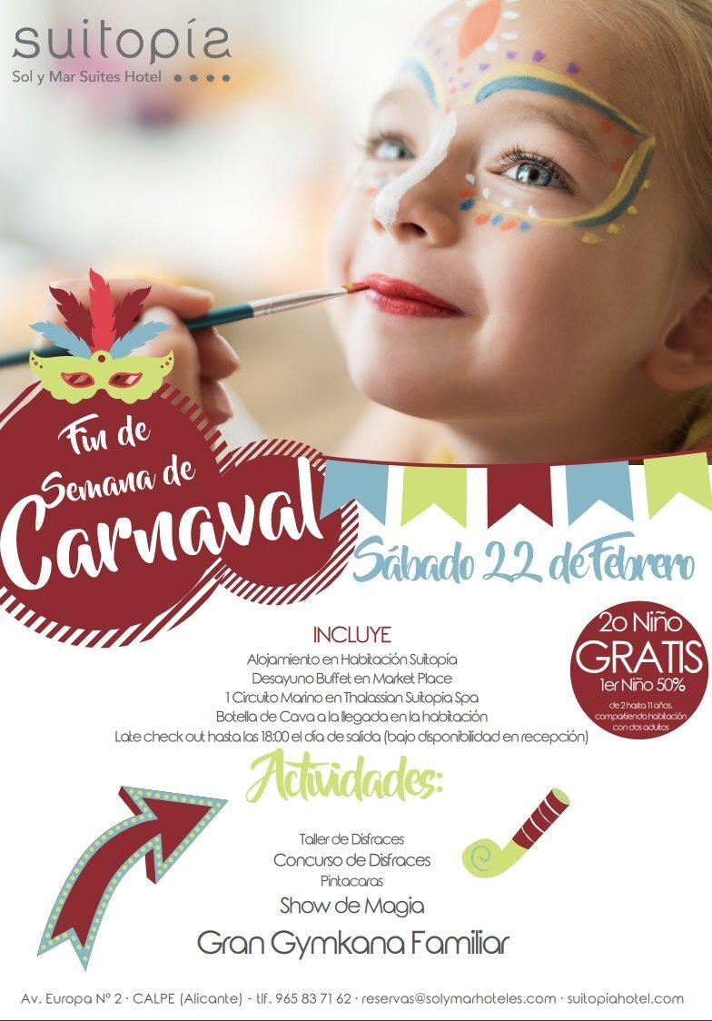 Celebrar el carnaval en Suitopia