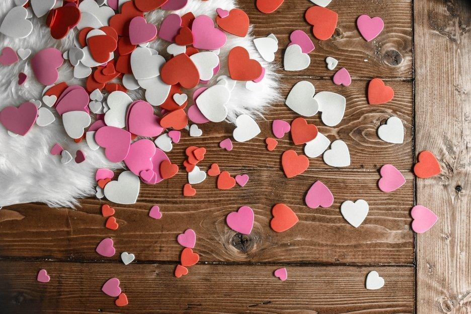 Mensajes en un corazon