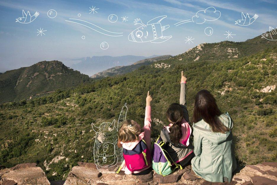 Region of Valencia with kids