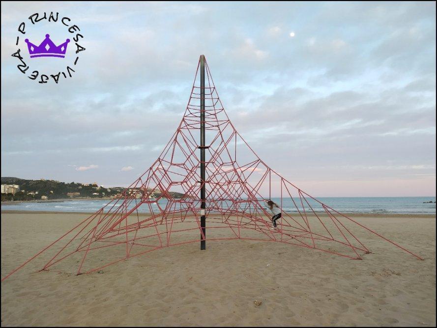 Jugar en la playa