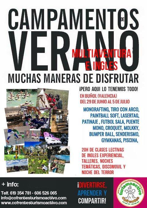 Campamento en Comunidad Valenciana