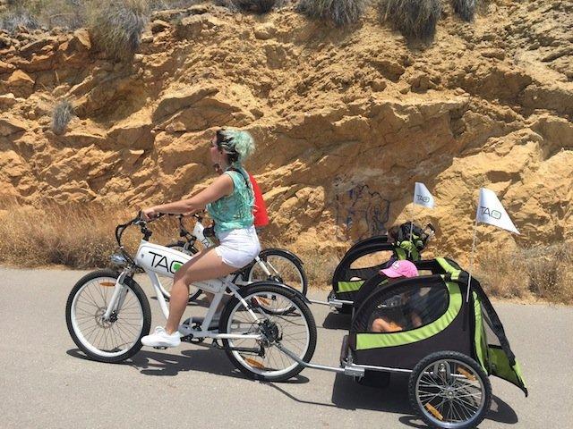 Benidorm en bici con Tao Bike