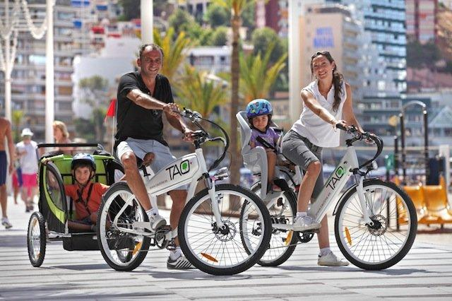 Benidorm en bicicleta eléctrica