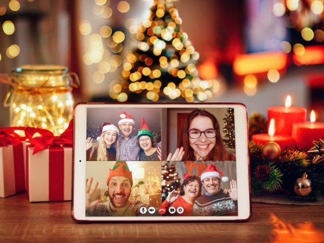 Navidad con zoom
