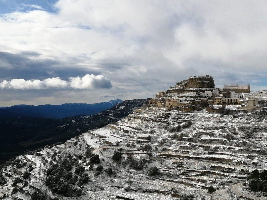Nieve en Ares del Maestrat